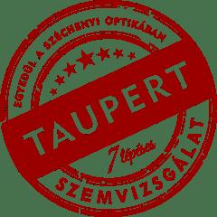 7 lépéses taupert szemvizsgálat Széchenyi Optika