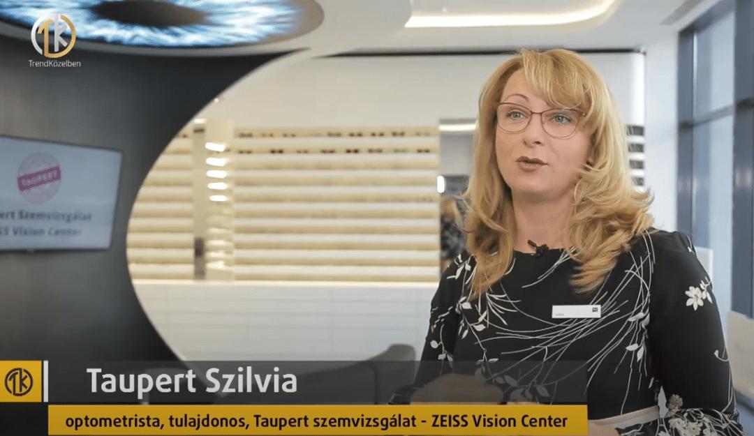 VIASAT3 Trendközelben- Távvezérlésű látásvizsgálat